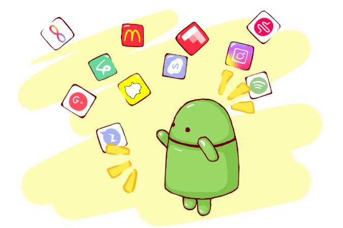 hur installerar man appar i android