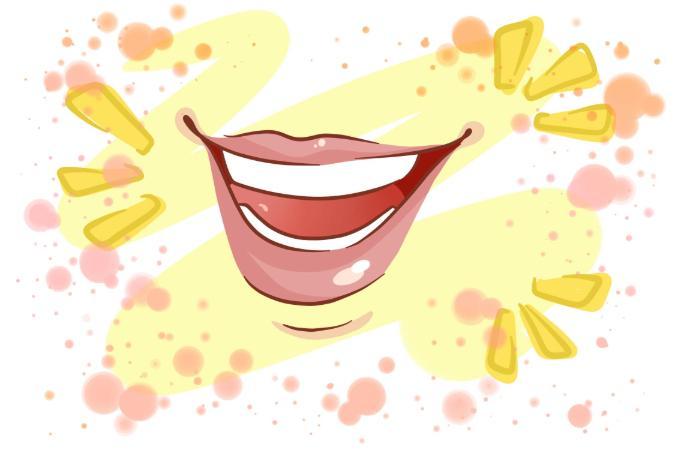 hur man far finare leende