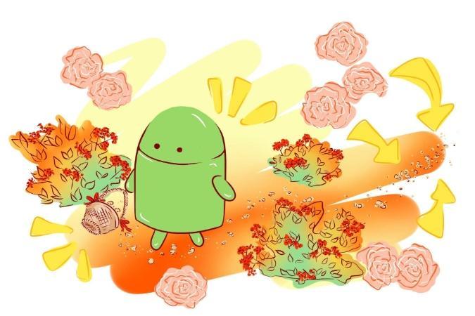 hur sparar man android