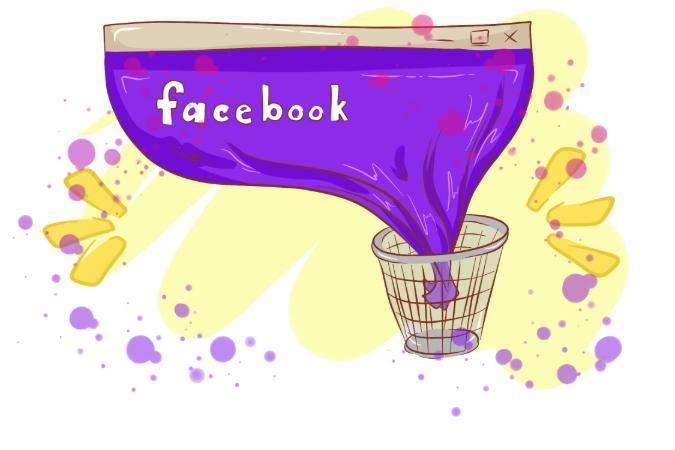 hur tar man bort facebook permanent