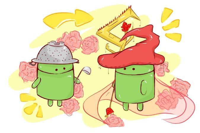 hur uppdaterar man android
